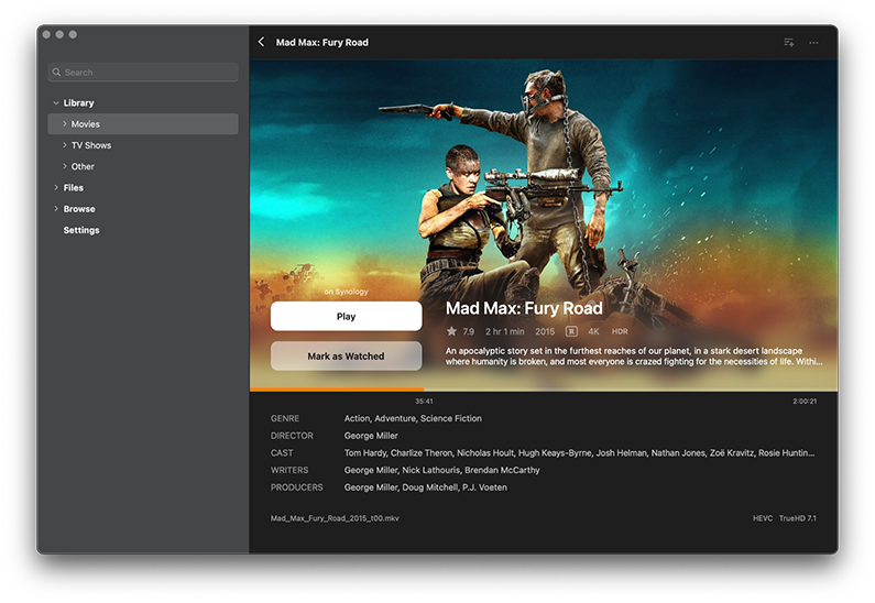 Infuse for macOS