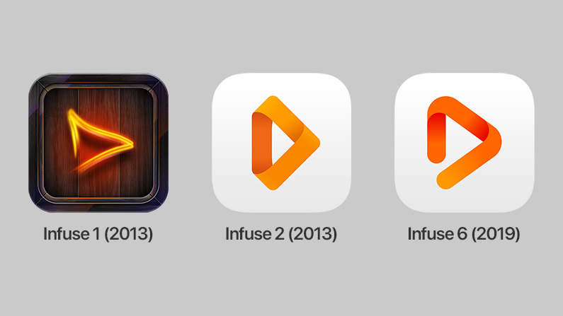 Infuse icons
