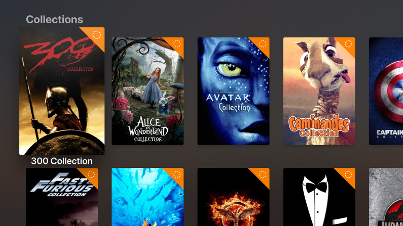 Plex collections